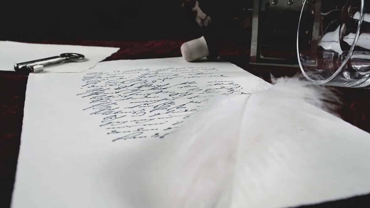 Brief und Feder