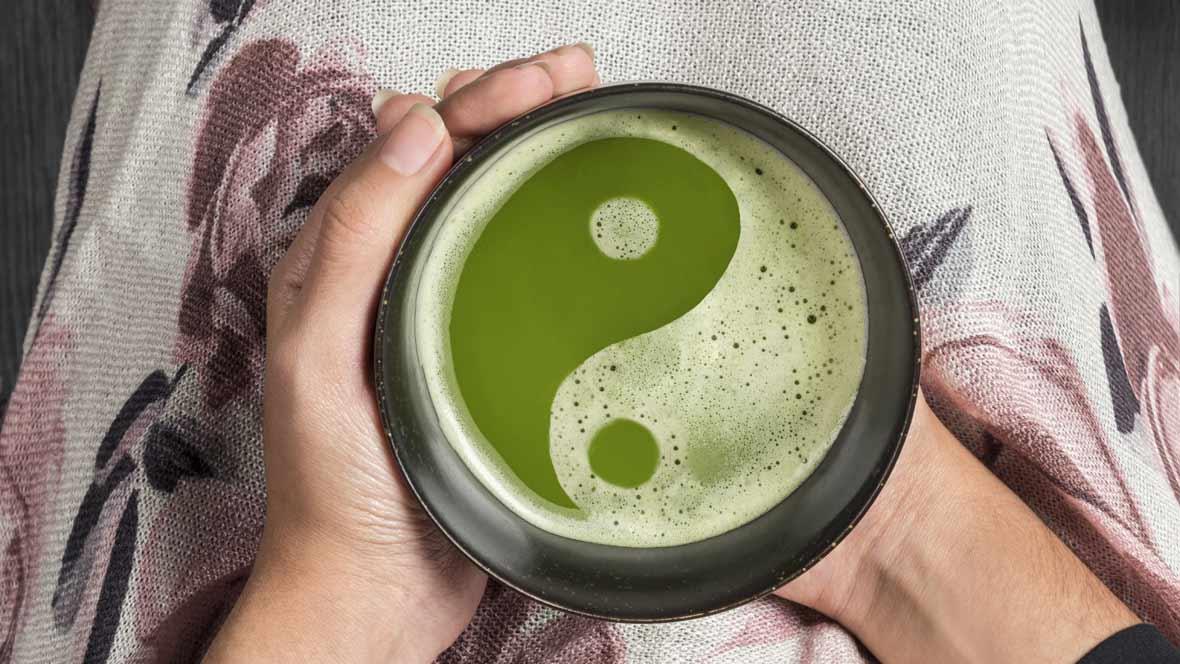 Leben in Balance mit Yin und Yam
